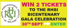 WIN 2 tickets to the RHSI's two hundred year contribution to horticulture, arboriculture and floral art in Ireland, the Bicentenary Committee has put together what will be an exciting and varied all day/evening event. This will be the high point of all the Bicentenary celebrations that have taken place throughout 2016.