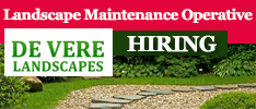 De Vere Landscapes are Hiring a Landscape Maintenance Operative