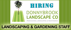 Donnybrook Landscape Co Require Landscape and Gardening Staff