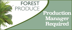 Forest Produce Limited are Hiring a Production Manager based in Tralee, Co.Kerry