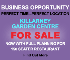 BUSINESS OPPORTUNITY to acquire Killarney Garden Centre for sale