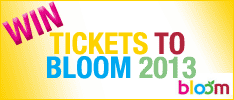 Win Bloom 2013 Tickets!