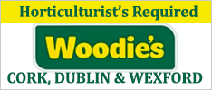 Woodie's are recruiting a Horticulturist for our Wexford, Coolock, Lucan and Blackpool store in Cork.