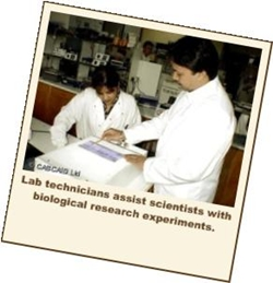 Biology laboratory Technician